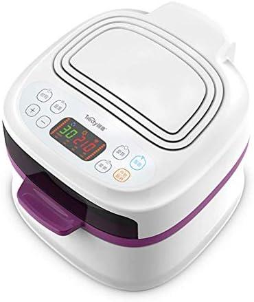 1200W électrique Air Fryer W/minuterie, contrôle de température, Panier Amovible Poignées sans Huile, 8L, B