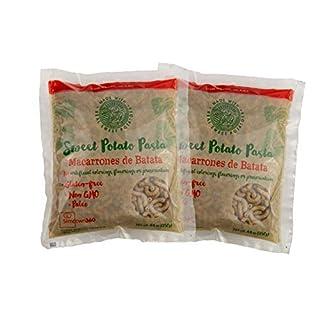Sweet Potato Pasta - Macaroni Elbows - Paleo - Gluten Free - Vegan - 2 pack (2 x 8.8 oz)