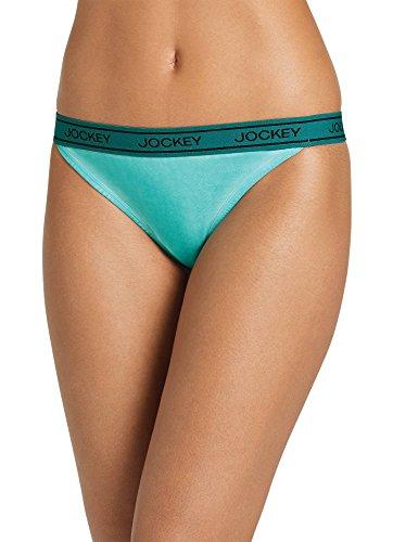 Jockey Women's Underwear Signature™ Modern Mix Thong, Magnolia Leaves, -