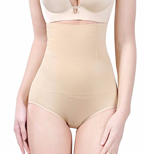BigEasyStores Slimming Panties 360 Tummy Control Effect Body Shaper Panty (S/M)