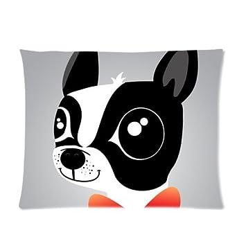 Amazon.com: Custom Bulldog Francés imagen funda de almohada ...