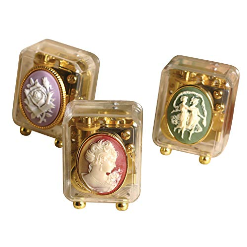 Edwardian Cameo - Victorian Trading Co. Cameo Music Boxes Collection - Set of 3 Keepsakes