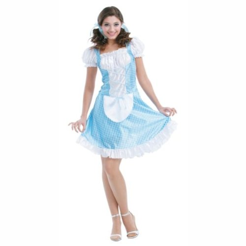Storybook Beauty - Adult Dorothy Costume - Women's One Size Fits Most