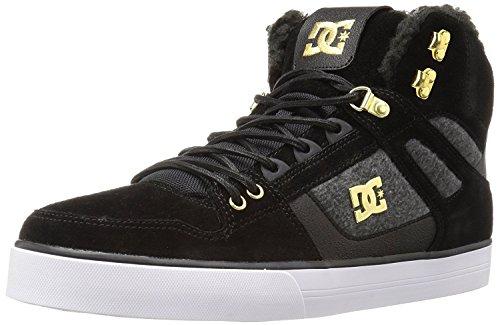 曖昧な必要条件同情DC Men's Spartan High WC Wnt Skateboarding Shoe Black/Gold 7 M US [並行輸入品]