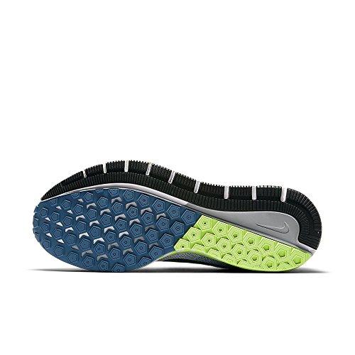 Nike Herren Air Zoom Structure 20 Laufschuhe WHITE/BLACK-INDUSTRI