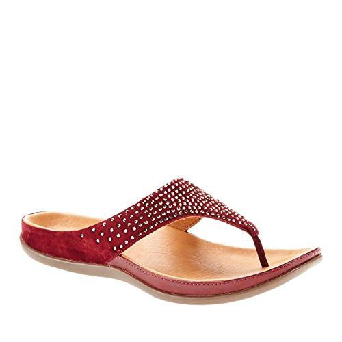 Port Ibiza 3 Womens Sandals Leather Tawny UK Strive zqB6RTwE