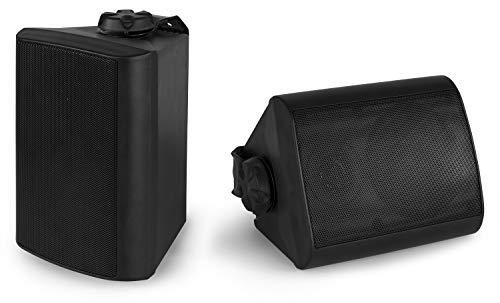 Power Dynamics BGO40 Zwarte speakerset voor binnen en buiten – 100W