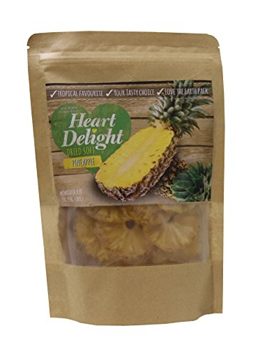 Heart Delight Dried Soft Tasty Tropical Pineapple Rings 270 gr. - 9.52 oz. by Heart Delight