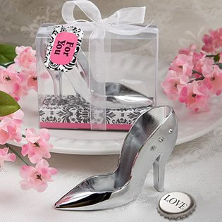 High Heel Shoe Design Bottle Openers - 40 (Shoe Bottle Opener Party Favors)