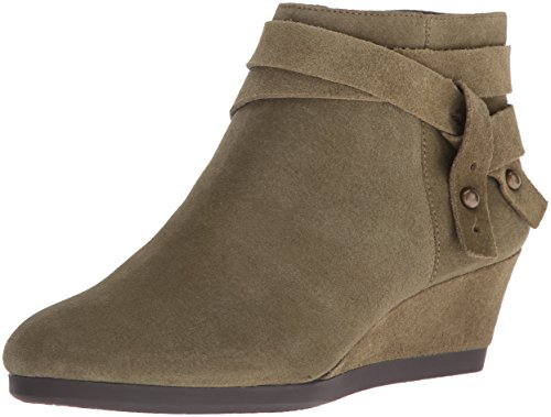 Nine West Women's Lina Suede Boot, Green, 7.5 M (Nine West Green Boots)