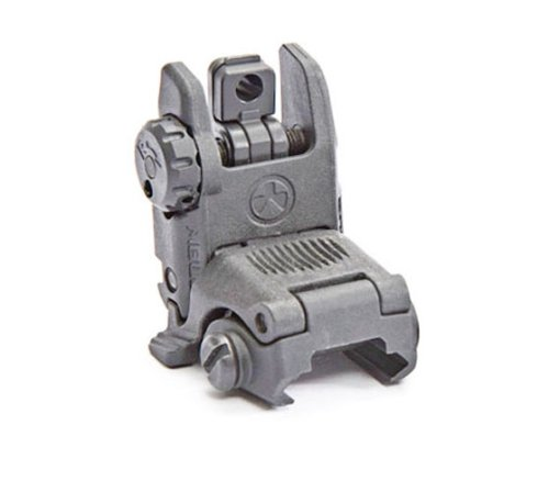 Magpul Industries MBUS Back Up Sight fits Picatinny (Rear Flip Up), Gray