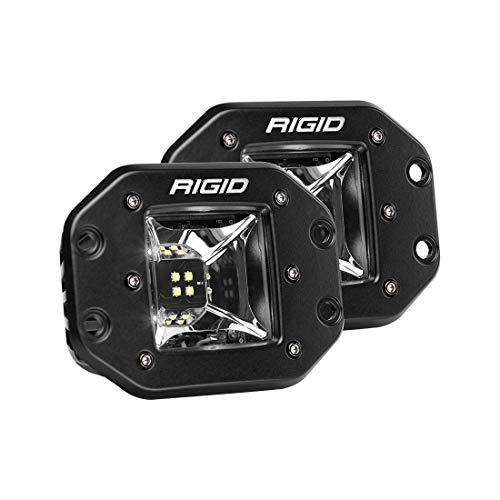 (RIGID 68210 RADIANCE SCENE WHITE BACKLIGHT FLUSH MOUNT LED Lights (set of 2 LED Lights), 68210)