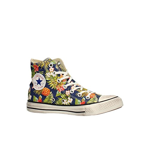 Montantes Egret Converse Baskets Graphics Star All Hi Inked Mixte Adulte Multicolore wHaqXAv
