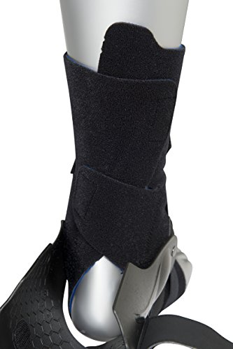 Zamst A2-DX Right Ankle Brace, Black, Small Photo #6