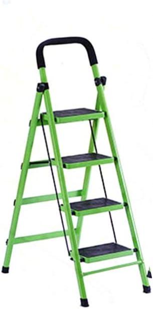 Multifunción Verde/Rojo Librairie Escalera Interior de Hogares Escaleras Doble Uso Escalera Jardinera en Tres Pasos / Cuatro Etapas de Ingeniería Escalera Estable, color rojo 42*79*133cm: Amazon.es: Oficina y papelería