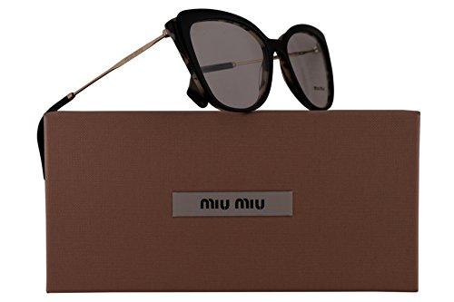Miu Miu MU02QV Eyeglasses 53-17-140 White Havana w/Demo Clear Lens ROK1O1 VMU 02Q VMU02Q MU - 17 140 53 Glasses