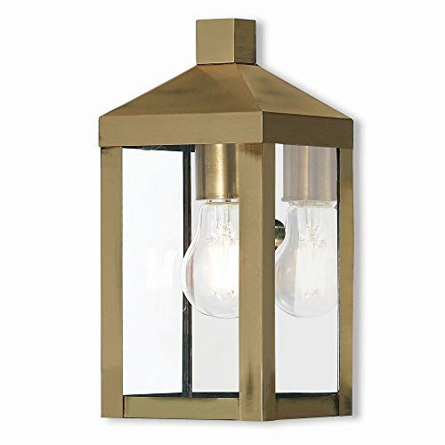 Modern Brass Outdoor Lighting