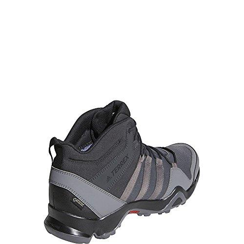 Scarpa Adidas Outdoor Uomo Terrex Ax2r Mid Gtx (9.5 - Nero / Nero / Nero)