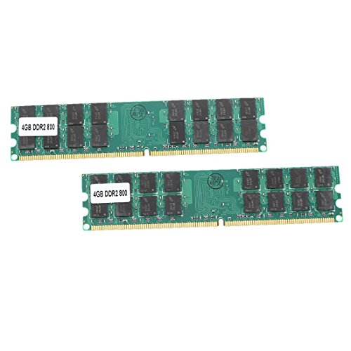 4G AMD Memory - TOOGOO(R)8G (2 x 4 G) Memory RAM DDR2 PC2-6400 800MHz Desktop non-ECC DIMM 240 Pin AMD (400mhz 800 Ddr2)