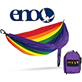 ENO - Eagles Nest Outfitters DoubleNest Print Lightweight Camping Hammock, 1 to 2 Person