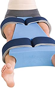 """ProCare Hip Abduction Foam Support Pillow, Small (18"""" L x 6"""""""
