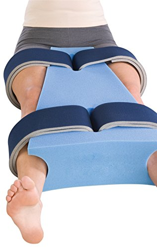 ProCare Hip Abduction Foam Support Pillow, Small (18'' L x 6'' - 12'' W) by ProCare