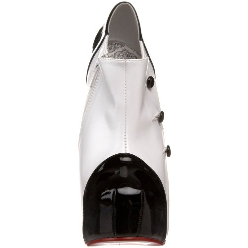 Bordello Teeze-20 - sexy burlesco plataforma zapatos de tacón alto mujer - tamaño 36-43, US-Damen:EU-43 / US-12 / UK-9