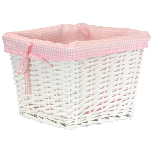Gingham Pattern Cloth Liner Pink product image