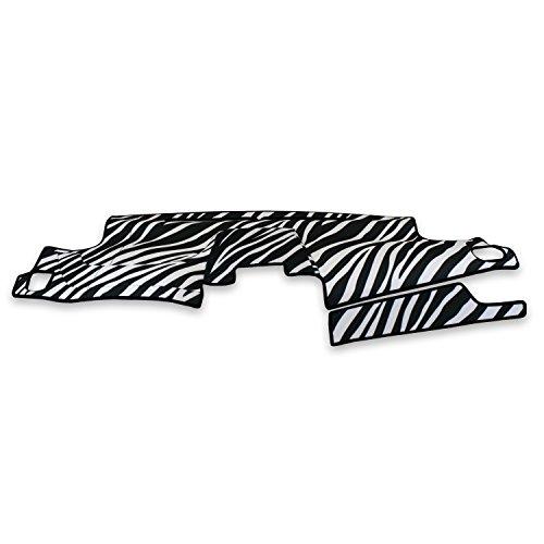 Jimmy Zebra (Coverking Custom Fit Dashcovers for Select GMC Jimmy Models - Velour (Zebra))