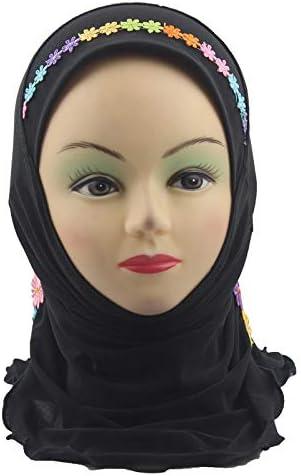 Culte Casque Saoudite Islamique Bouchon T/ête KRUIHAN Hijab Musulman Fille /Écharpe