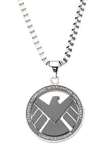 Marvel S.H.I.E.L.D Stainless Steel Pendant