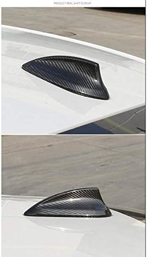 SENLINSQ BMWの新しい1 2 3 4 5シリーズルーフシャークフィンアンテナ装飾カバーカーボンファイバーアンテナ変更された外装