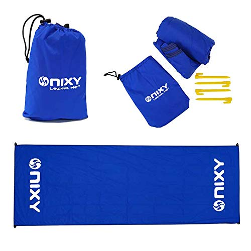 NIXY Landing Mat Paddle Board Ground Sheet 142' x 57', Quick Drying, Durable, Sand and Dirt Resistant, Nylon, Best for Water Gear, Royal Blue
