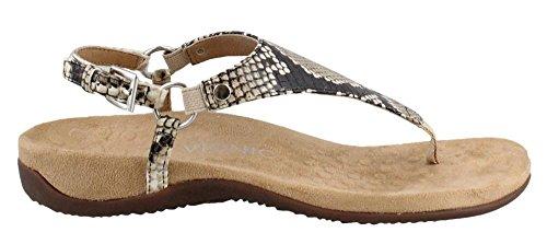 Sandals Snake Womens Kirra Natural Vionic Rest Leather I7wCxqR