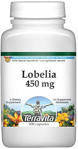 Lobelia - 450 mg (100 Capsules, ZIN: 512458)