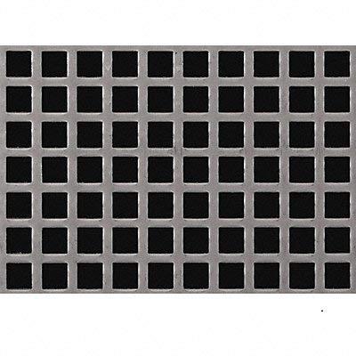Direct Metals Sheet Perf STL 40x36 18 ga 0.500 Dia Sq