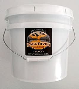 Amazon.com : Fall River Wild Rice 25 Lb Bucket-Fancy by
