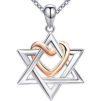 Amazon Jewish Symbol Spirit Protection Star Of David Pendant