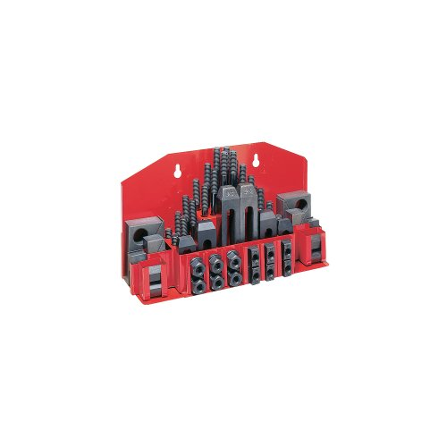 JET CK-38 52-Piece Clamping Kit with Tray for 1/2-Inch T-slot by Jet