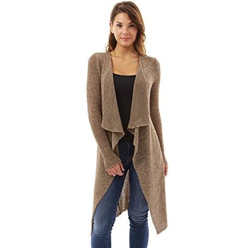 venta caliente 2017 PattyBoutik Mujer abierto en la punta delantera  drapeado de manga larga chaqueta de 1498606e2b7e