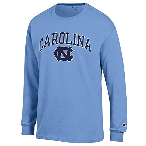 (Elite Fan Shop North Carolina Tar Heels Long Sleeve Tshirt Varsity Blue - XXL)