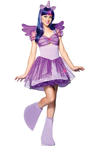 8eighteen My Little Pony Twilight Sparkle Unicorn Adult Costume (Girls Twilight Witch Costume)