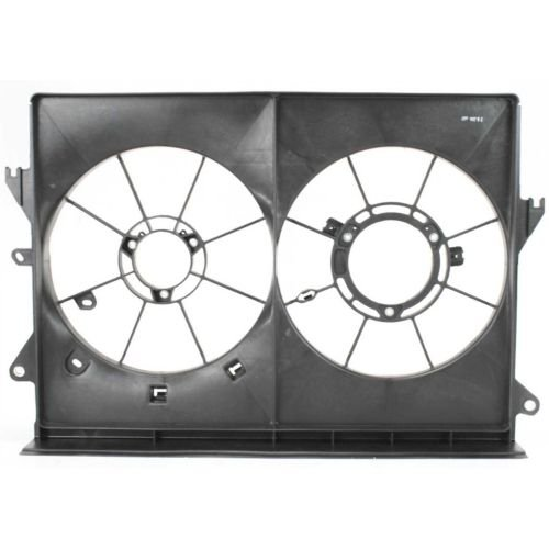 MAPM Premium Quality TC 05-10 RADIATOR FAN SHROUD, Dual Type by Make Auto Parts Manufacturing
