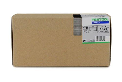 Festool 492741 P150 Grit, Titan 2 Abrasives, Pack of 100 Review