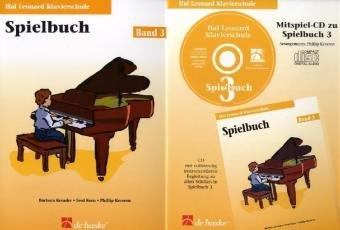Hal Leonard Klavierschule, Spielbuch u. Audio-CD