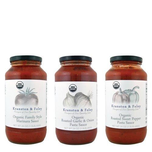 Gourmet Organic Pasta Sauce Set