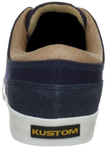 Kustom REMARK DLX KREMA2026021 - Zapatillas de skate de lona para niño Azul