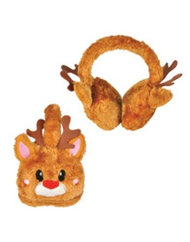 Rhode Island Novelty Christmas Brown Reindeer Rudolf