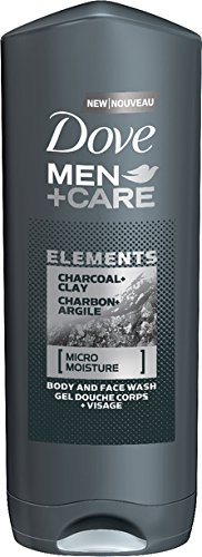 Dove Men's+Care Charcoal and Clay Body Wash, 400g