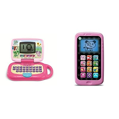 LeapFrog Leaptop and Smart Phone Business Baby Bundle, Violet: Toys & Games